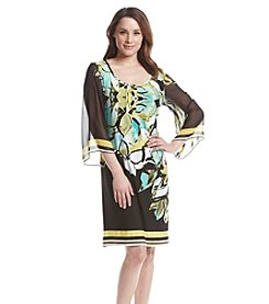 Ronni Nicole® Floral Bell Sleeve Dress