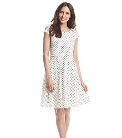 Ronni Nicole® Dot Patterned Dress