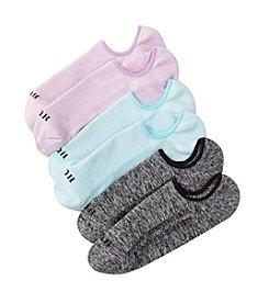 HUE® Air Sleek 3-Pack Liner Socks