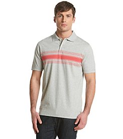John Bartlett Consensus Men's Engineered Chest Stripe Short Sleeve Polo