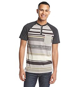 Levi's® Men's Lot Stripe Short Sleeve Henley Tee