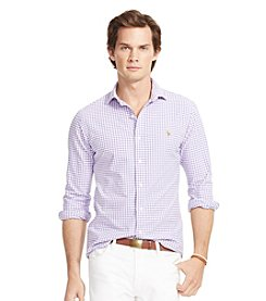 Polo Ralph Lauren® Men's Long Sleeve Gingham Oxford Shirt