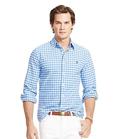 Polo Ralph Lauren® Men's Long Sleeve Tattersall Oxford Shirt