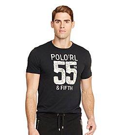Polo Ralph Lauren® Men's Short Sleeve Graphic Jersey Crew Neck