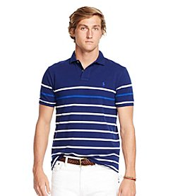 Polo Ralph Lauren® Men's Classic-Fit Striped Mesh Short Sleeve Polo Shirt