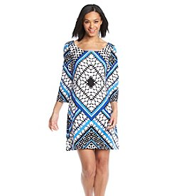 Jessica Simpson Printed Shift Dress