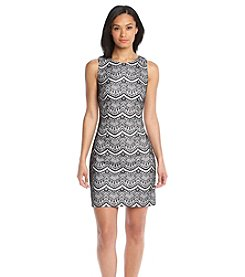 Jessica Simpson Lace Sheath Dress