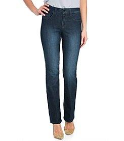 NYDJ® Petites' Marilyn Straight Leg Jeans