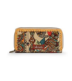 sakroots™ by The Sak® Artist Circle Double Zip Wallet