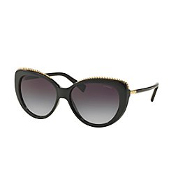 COACH UPTOWN BEAD CHAIN CAT EYE SUNGLASSES