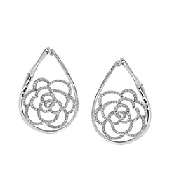 Effy® 1.95 ct. tw. Diamond Earrings In 14K White Gold