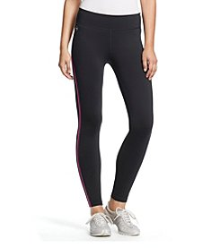 Lauren Active® Zip-Pocket Active Leggings