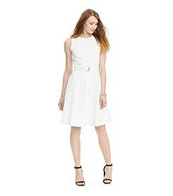 Lauren Jeans Co.® Denim Fit-And-Flare Dress