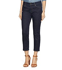 Lauren Jeans Co.® Cropped Straight Premier Jeans