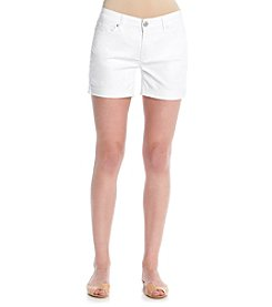 Relativity® Twill Roll-Cuff Shorts
