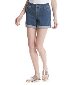Relativity® Denim Roll-Cuff Shorts