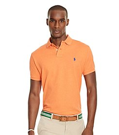 Polo Ralph Lauren® Men's Custom-Fit Short Sleeve Mesh Polo Shirt