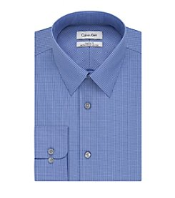 Calvin Klein Men's Check Point Dress Shirt