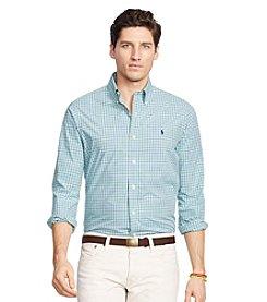 Polo Ralph Lauren® Men's Slim-Fit Checked Estate Long Sleeve Button Down Shirt