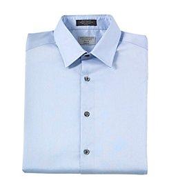 John Bartlett Statements Men's Slim Fit Stretch Solid Dress Shirt