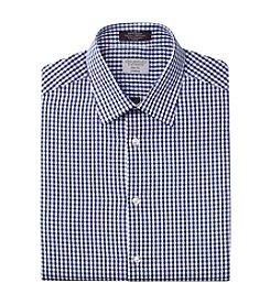 John Bartlett Statements Men's Slim Fit Stretch Gingham Dress Shirt