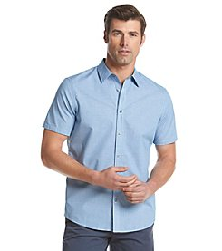 Michael Kors® Men's Tailored Fit Aldis Short Sleeve Button Down Shirt