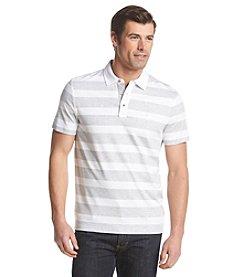 Michael Kors® Men's Feeder Stripe Rugby Short Sleeve Polo