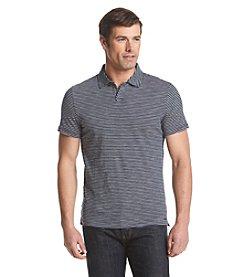 Michael Kors® Men's Mini Mariner Stripe Open Short Sleeve Polo