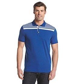 Michael Kors® Men's Pop Chest Stripe Short Sleeve Polo