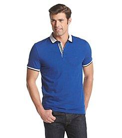 Michael Kors® Men's Tipped Ribbon Short Sleeve Polo