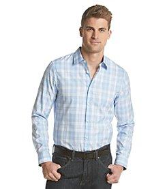 Michael Kors Men's Tailored Fit Gene Long Sleeve Button Down Shirt