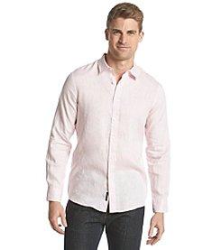 Michael Kors® Men's Tailored Linen Long Sleeve Button Down Shirt