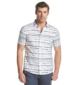 Michael Kors® Men's Slim Fit Ned Short Sleeve Button Down Shirt