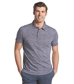 Michael Kors® Men's Fan Printed Cotton Short Sleeve Polo
