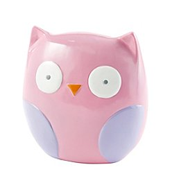 Cuddle Bear® Baby Girls' Owl Piggy Bank