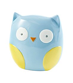 Cuddle Bear® Baby Boys Owl Piggy Bank