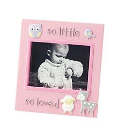 Cuddle Bear® Baby Girls' Sonogram Frame