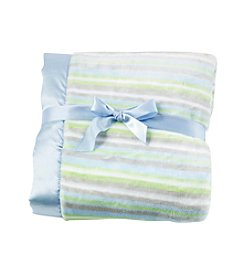 Cuddle Bear® Baby Boys Stripe Blanket