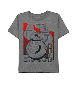 Star Wars® Boys' 4-20 Astro Droid BB-8™ Short Sleeve Tee