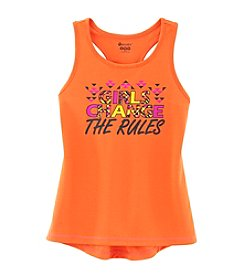 Mambo Girls' 7-16 Girls Change The Rules Printed Tank
