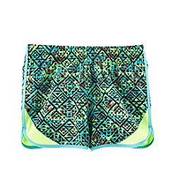 Mambo® Girls' 7-16 Geo Printed Shorts