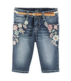 Squeeze® Girls' 7-16 Embroidered Bermuda Shorts