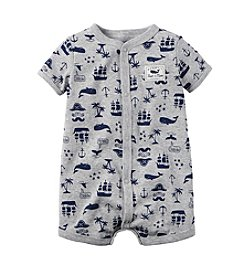 Carter's® Baby Boys Boat And Whale Printed Creeper
