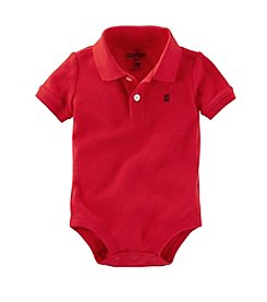 OshKosh B'Gosh® Baby Boys' Short Sleeve Polo Bodysuit