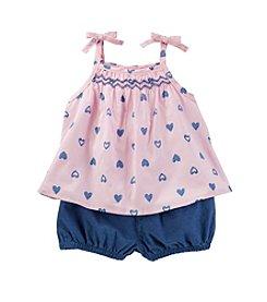 OshKosh B'Gosh® Baby Girls' Printed Tank And Shorts Set