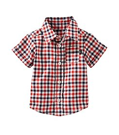 OshKosh B'Gosh® Baby Boys' Short Sleeve Gingham Woven Shirt