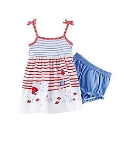 Nannette® Baby Girls' Winnie The Pooh Printed Dress Set