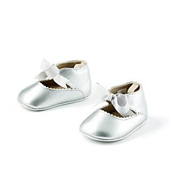 Cuddle Bear® Baby Pearlized Ankle Strap Prewalker Shoe
