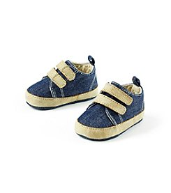 Cuddle Bear® Baby Denim Sneaker Prewalker Shoe