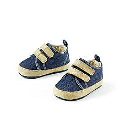 Cuddle Bear® Baby Denim Sneaker Prewalker Shoe